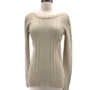 Fate Soft Ivory Long Sleeve Sweater